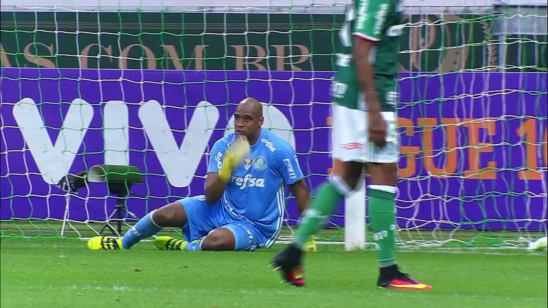 21 Rodada - Palmeiras 2x2 Ponte Preta (Campeonato Brasileiro 2016)