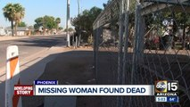 Family speaks out after missing woman found dead in Phoenix