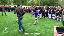 Kids Vs Footballers • Football Players humiliating Little Kids • Ankle Breaking Skills-bQBlNY60r5g