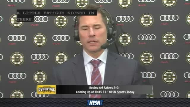 Bruins Overtime Live: Bruce Cassidy Happy With Growth And Maturity Of Boston Bruins Team