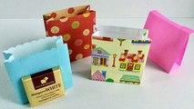 【折り紙】かわいい紙袋(側面から折る)の作り方 ゆっく�