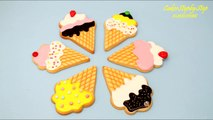 ICE CREAM Cookies How To Decorate with ROYAL ICING by CakesStepbyStep-Gw4ooe1FS5w
