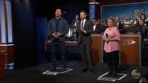Dwayne Johnson Vs a Sheep on Jimmy Kimmel Live
