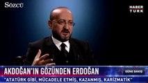 Yalçın Akdoğan: 'Erdoğan karizmatik bir lider'