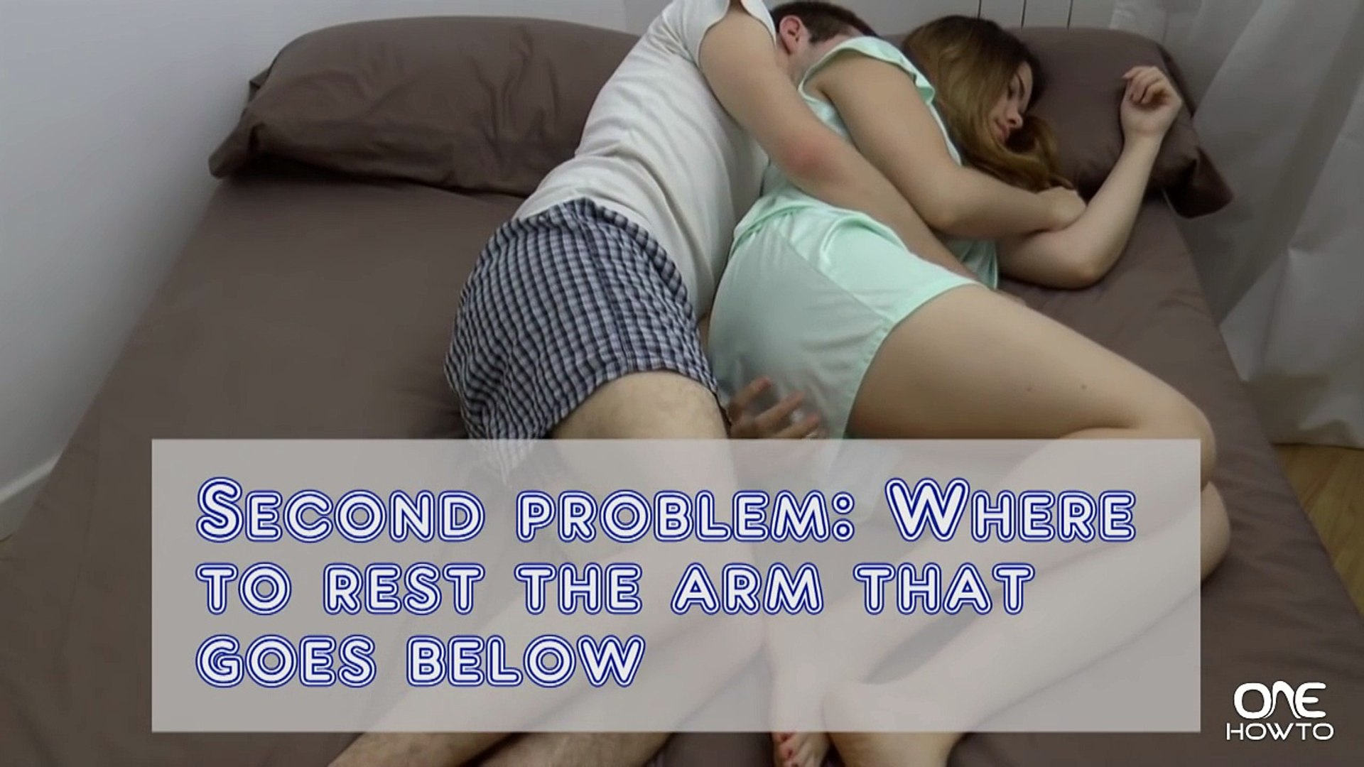 Is someone what spooning Do Guys