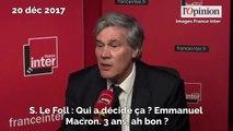 Glyphosate: la colère de Stéphane Le Foll contre Emmanuel Macron