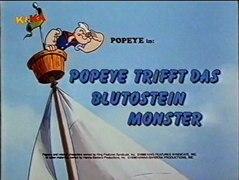 Popeye der Seefahrer 12 Popeye als Rekrut Popeye trifft das