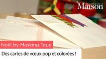 Noël by Masking Tape : des cartes de vœux pop et colorées !