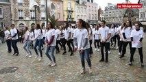 Paimpol. Une flashmob solidaire par les lycéens de Kerraoul
