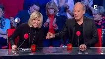 """Violente chute de Chantal Ladesou hier soir dans """"Les grosses têtes"""" sur France 2"""