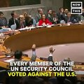 The world's major nations all just voted to condemn Trump's decision on Jerusalem