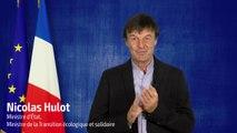 Cloture des Assises nationales de la mobilite : discours de Nicolas Hulot