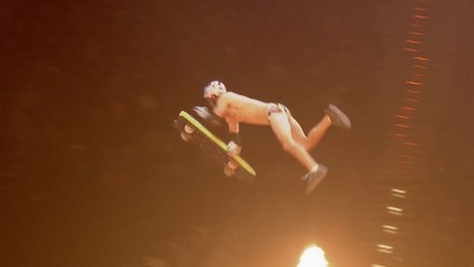 Dusty Leaves Some Skin in Germany | The Original Nitro Circus Live