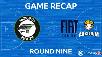 7DAYS EuroCup Highlights Regular Season, Round 9: Darussafaka 75-77 Fiat Turin