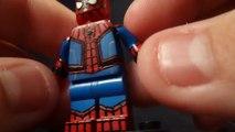 Custom Lego Spider-Man Villains Part 1 (Spider-Man, Sandman, The Shocker, and The Vulture)