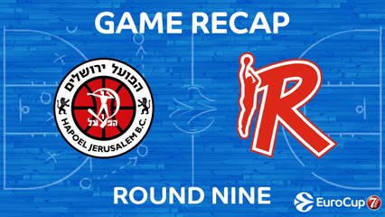 7DAYS EuroCup Highlights Regular Season, Round 9: Jerusalem 66-79 Reggio Emilia