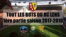 Tout les buts du RC Lens (1ère partie de championnat) 2017-2018