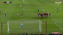 1-1 Zlatan Ibrahimović Goal England  Football League Cup  Quarterfinal - 20.12.2017 Bristol City...