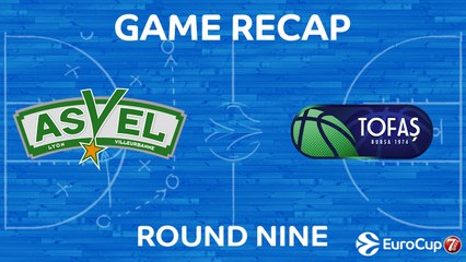 7DAYS EuroCup Highlights Regular Season, Round 9: ASVEL 84-74 Tofas