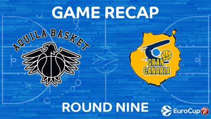 7DAYS EuroCup Highlights Regular Season, Round 9: Trento 79-76 Gran Canaria
