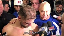 BJ SAUNDERS IM THE BEST NOW! GGG OR CANELO IM READY! DONT CALL ME WHEN IM FAT, CALL ME NOW!