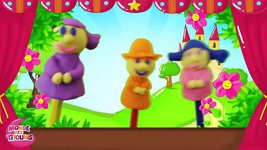 Ainsi font font font les petites marionnettes - Comptine en pâte à modeler Play-Doh - YouTube_2 ...