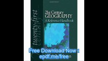 21st Century Geography A Reference Handbook (21st Century Reference)
