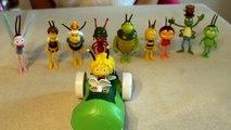 Maya the bee all charers based on 3d cartoon playset maia de Bij, Ape maia, Pcelica maja