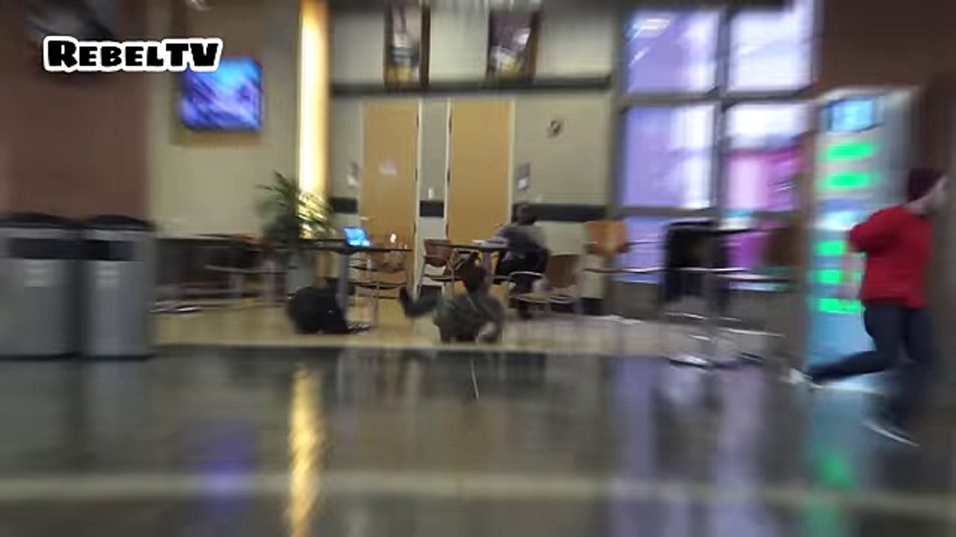 Chair pulling prank New full of fun very funny video caught on camera