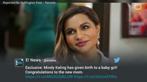 Report: Mindy Kaling Welcomes her First Child
