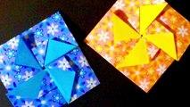 Origami Windmill Envelope       折り紙 風車の手紙-gfKb2qA6oqM