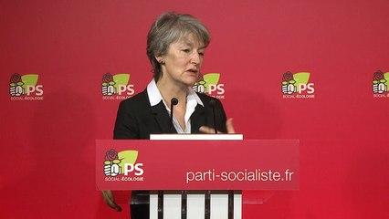 Conférence de presse Isabelle THIS SAINT-JEAN