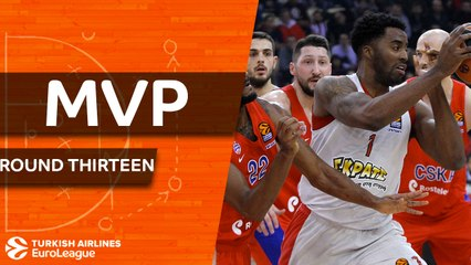 Regular Season Round 13 co-MVPs: Jamel McLean & Alexey Shved