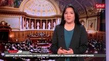 Sécurité : le Sénat adopte la loi d'adaptation au droit de l'UE - Les matins du Sénat (21/12/2017)