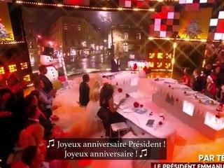 """Quand Macron exerce sa """"gravité"""" présidentielle chez Cyril Hanouna"""