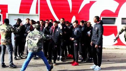 Action RAID CROSS pour les jeunes du centre