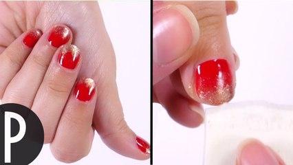 Tuto ongles: spécial noël