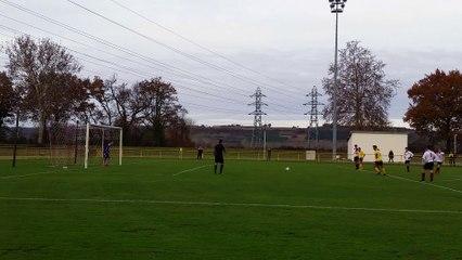 09-12-17 8e De Finale Coupe Tarn & Garonne U17 - Le Penalty d'Ilias