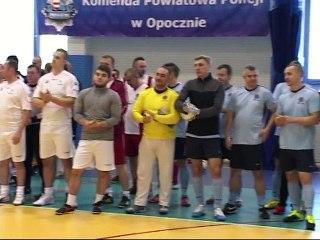 Turniej Halowej Piłki Nożnej o Puchar Komendanta Powiatowego Policji w Opocznie