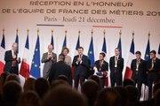 Discours du Président de la République, Emmanuel Macron, lors de la réception de l'Équipe de France des metiers