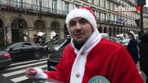 Nous avons retrouvé le Père Noël à moto qui a pris en chasse une chauffarde