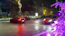 Porsche 911 GT3 with Touring Package and 911 Carrera T in the rain