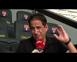 Cevallos responde al tema deudas en Barcelona