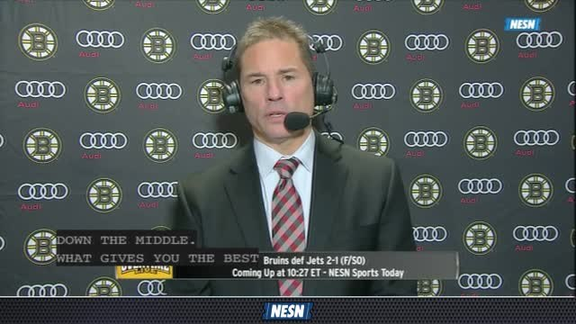 Bruce Cassidy Pleased With Bruins' Effort In Win Vs. Jets