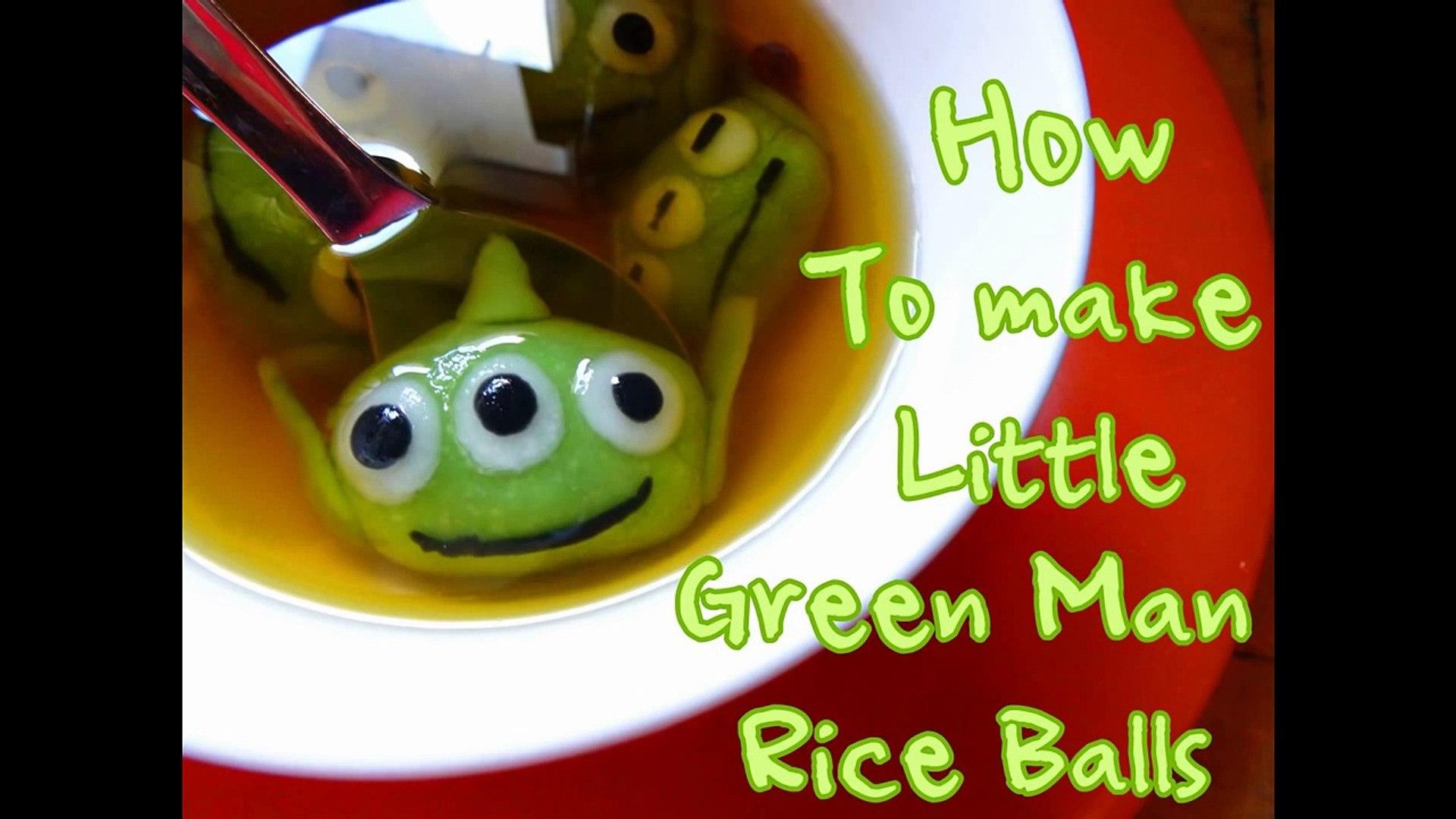 How to make Little Green Man Rice Balls 三眼仔湯圓-EpJsYOwLTDQ