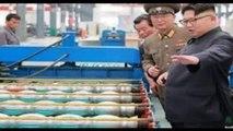 उत्तर कोरिया पर अमेरिका ने बरसाए बम, रातों-रात राख बना दिया आधा उत्तर कोरिया_HD