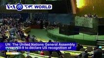 GLOBALITA: 128 members ng UN, suportado ang pagbabalik sa Jerusalem bilang kabisera ng Palestine; Libu-libo, patay sa Sy