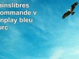 Parrot Minikit Neo 2 HD Kit Mainslibres Bluetooth commande vocale plugnplay  bleu
