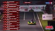 Bagarre entre deux pilotes de karting après un accrochage