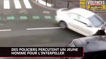 Viry-Châtillon : des policiers percutent un jeune homme avec leur voiture (Vidéo)